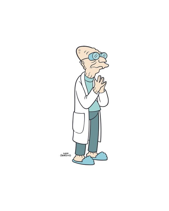 (8. Staffel) - Der 160-jährige Professor Farnsworth ist der Gründer und Chef von Planet Expres ... - Bildquelle: 2003 Twentieth Century Fox Film Corporation. All rights reserved.