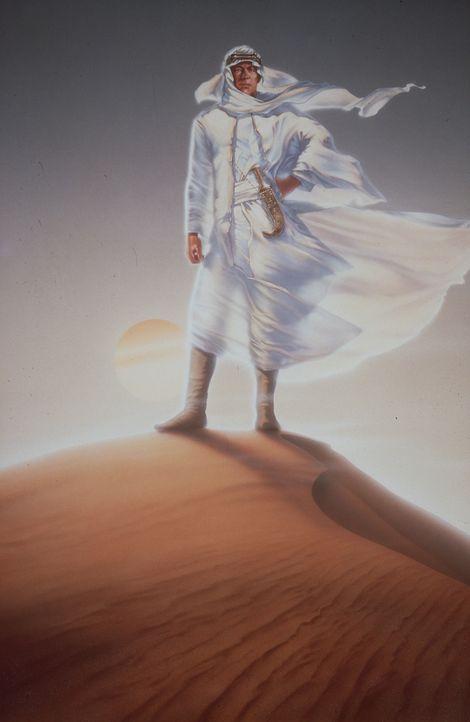 Der charismatische, tollkühne Lawrence (Peter O'Toole) reist nach Arabien, um die untereinander verfeindeten Stämme zu einer Armee zusammenzuschwe... - Bildquelle: Columbia Pictures