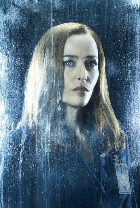 (11. Staffel) - Erkennt, dass ihr Sohn viel mehr mit dem Schicksal der Menschheit verbunden ist, als je gedacht: Scully (Gillian Anderson) ... - Bildquelle: 2018 Fox and its related entities.  All rights reserved.