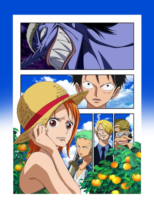 One Piece: Nami - Artwork - Bildquelle: Film  1999 Toei Animation Co., Ltd.