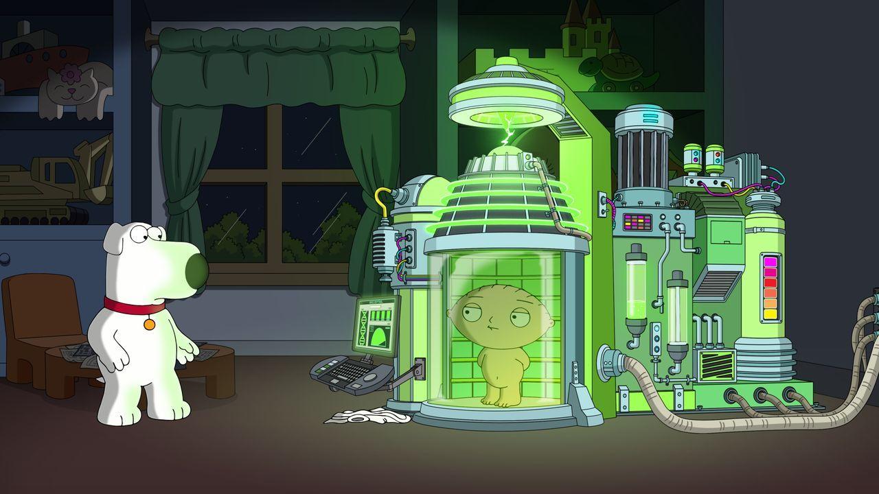Stewies Erfindung - eine Maschine, die seine Klugheit auf ewig bewahren soll... - Bildquelle: 2020-2021 Twentieth Century Fox Film Corporation. All rights reserved.