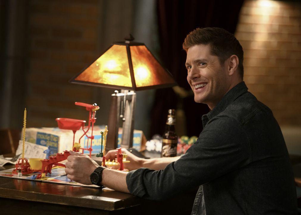 Dean Winchester (Jensen Ackles) - Bildquelle: Diyah Pera 2018 The CW Network, LLC All Rights Reserved / Diyah Pera