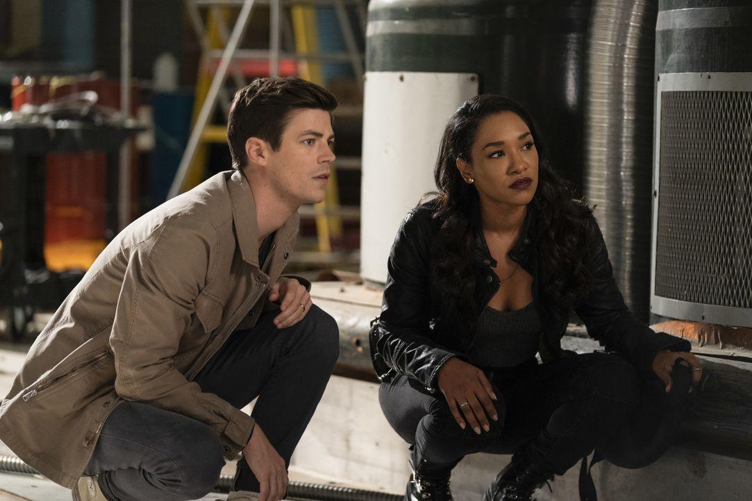 Barry Allen (Grant Gustin, l.); Iris West-Allen (Candice Patton, r.) - Bildquelle: 2019 The CW Network, LLC. All rights reserved.