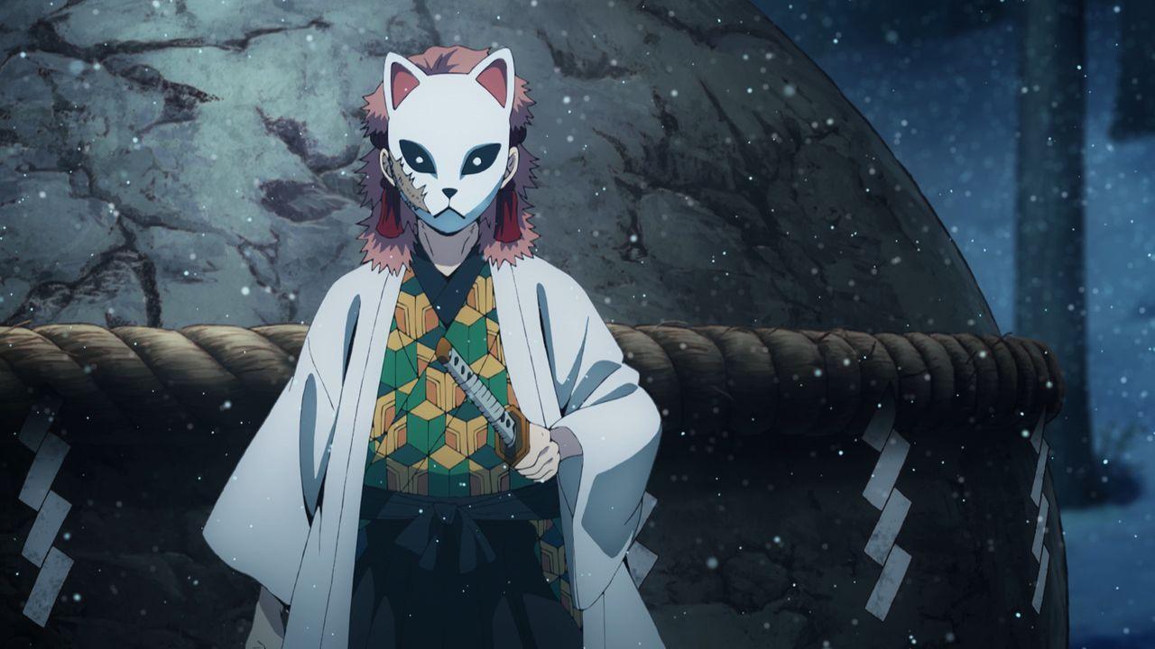 Sabito und Makomo - Bildquelle: Koyoharu Gotoge / SHUEISHA, Aniplex, ufotable