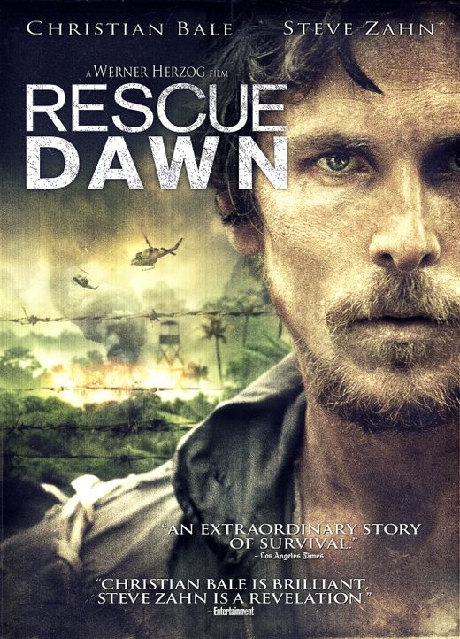 RESCUE DAWN - Plakat - Bildquelle: 2006 Top Gun Productions, LLC. All Rights Reserved.