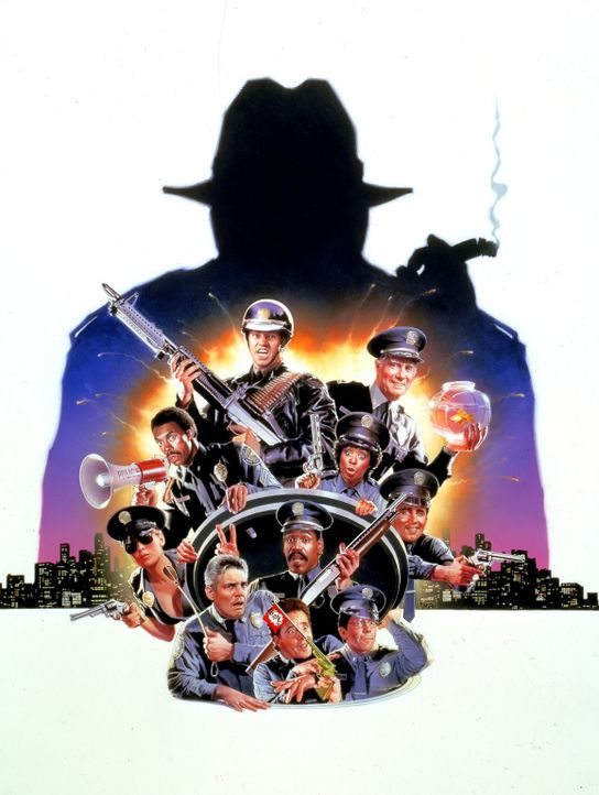 Police Academy 6 - Widerstand zwecklos - Artwork - Bildquelle: Warner Brothers International