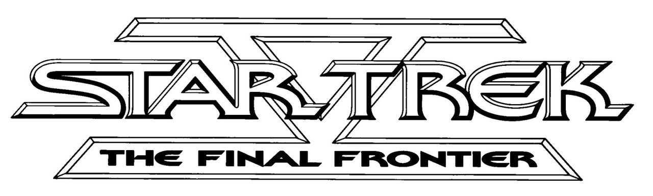 Star Trek V - The Final Frontier - Logo - Bildquelle: 2003 By Paramount Pictures All Rights Reserved