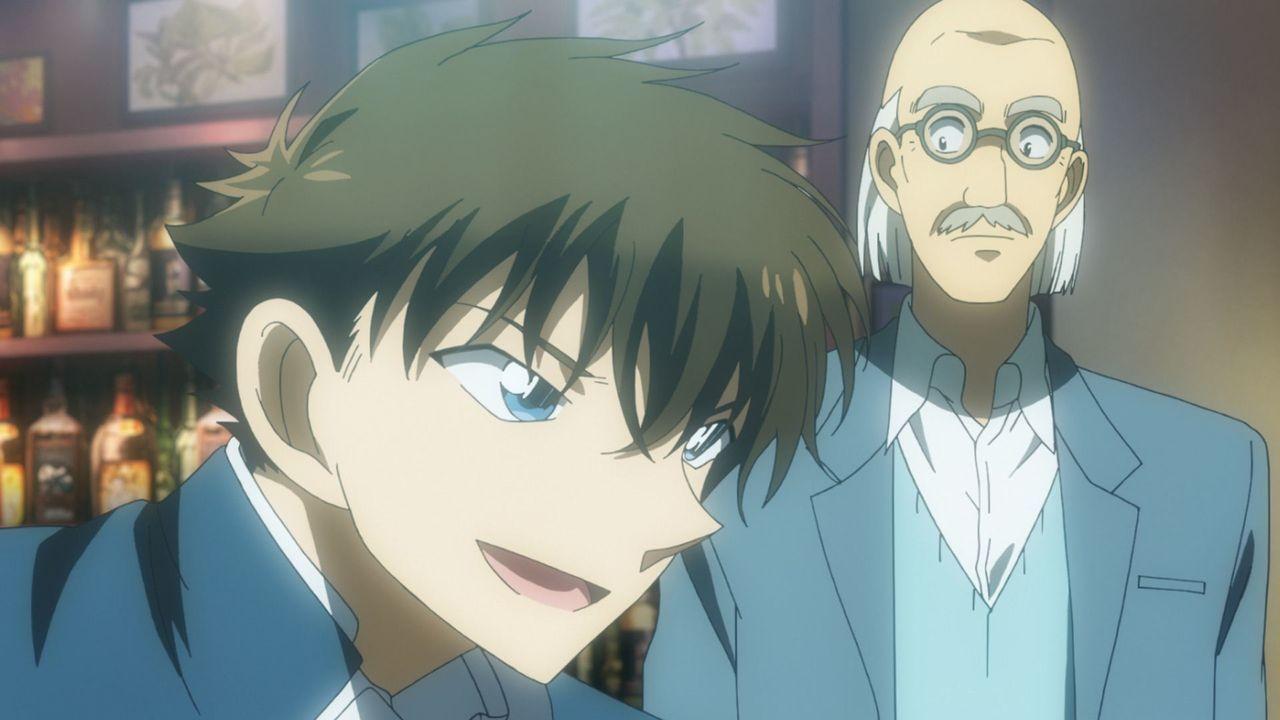 Kaito Kuroba (l.); Konosuke Jii (r.) - Bildquelle: Gosho Aoyama/Shogakukan·YTV·A-1 Pictures 2014