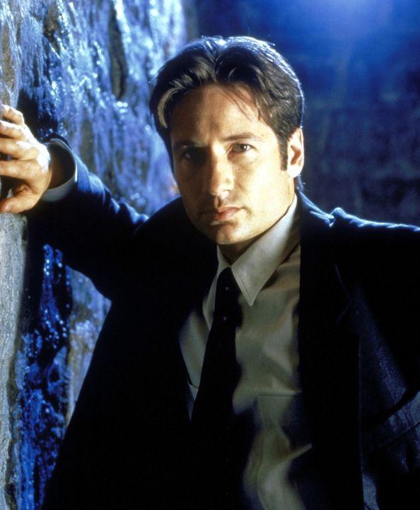 (7. Staffel) - FBI-Agent Fox Mulder (David Duchovny) befasst sich mit der Aufklärung längst abgelehnter Fälle, was seinen Vorgestzten gar nicht rech... - Bildquelle: TM +   2000 Twentieth Century Fox Film Corporation. All Rights Reserved.