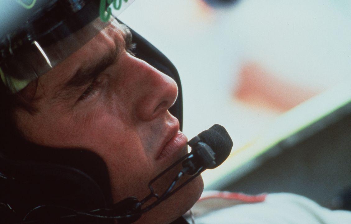 Er eilt von Sieg zu Sieg: Neuling Cole Trickle (Tom Cruise) ... - Bildquelle: Paramount Pictures