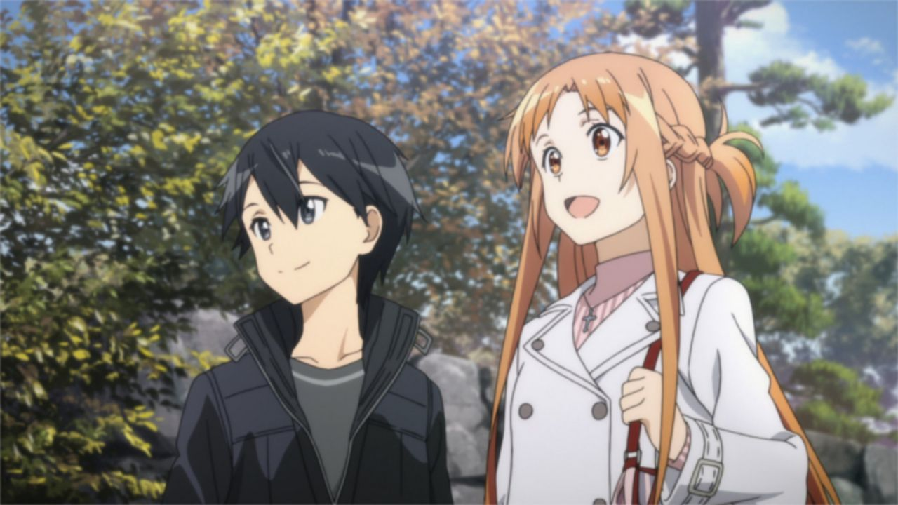 Kazuto (l.); Asuna (r.) - Bildquelle: REKI KAWAHARA/PUBLISHED BY KADOKAWA CORPORATION ASCII MEDIA WORKS/SAO II Project