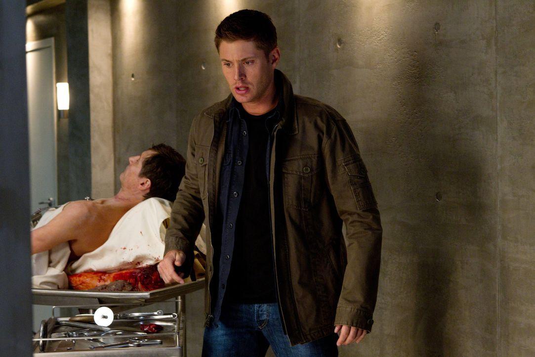 Seitdem Dean (Jensen Ackles, r.) wieder auf der Jagd ist, wird das Verhältnis zu Lisa und Ben immer schlechter. Für Dean eine Qual ... - Bildquelle: Warner Bros. Television