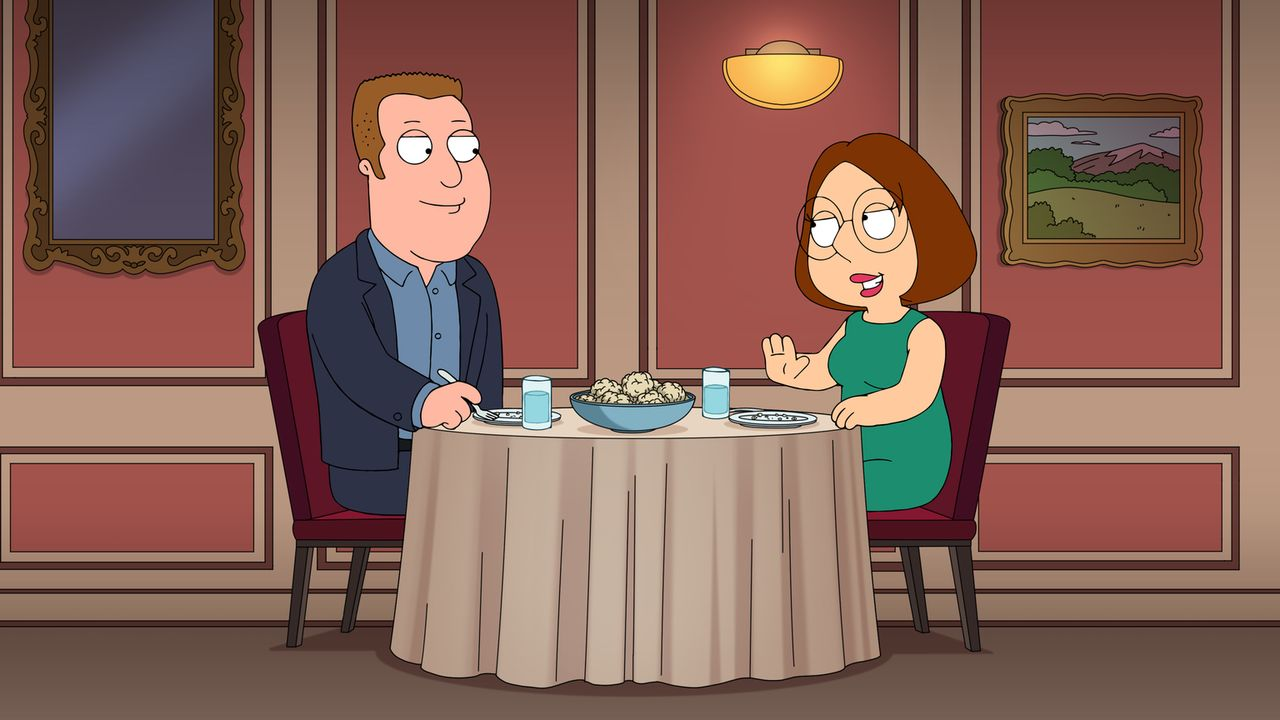 Kevin Swanson (l.); Meg Griffin (r.) - Bildquelle: 2018-2019 Fox and its related entities.  All rights reserved.