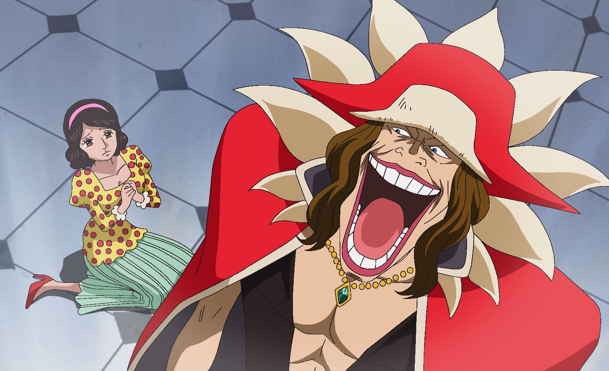 Diamante (r.) - Bildquelle: Eiichiro Oda/Shueisha, Toei Animation