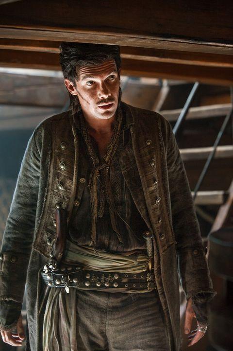 Muss sein Leben riskieren, um seine neue Position als Kapitän zu behaupten: Jack (Toby Schmitz) ... - Bildquelle: 2015 Starz Entertainment LLC, All rights reserved.