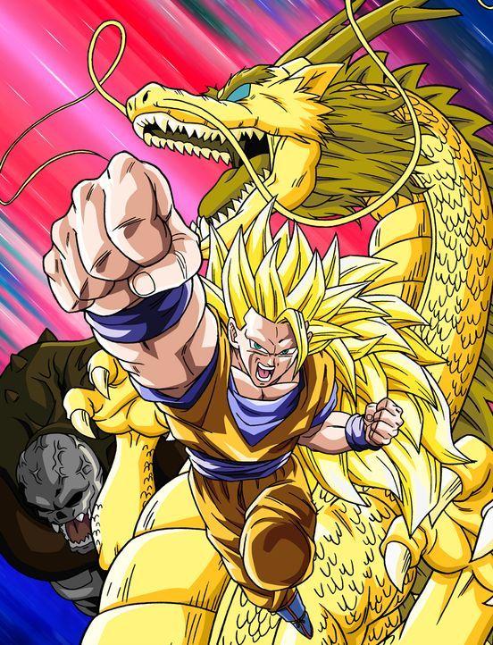 Dragon Ball Z: Drachenfaust - Artwork - Bildquelle: Bird Studio/Shueisha, Toei Animation Film © 1995 Bird Studio/Shueisha, Toei, Toei Animation