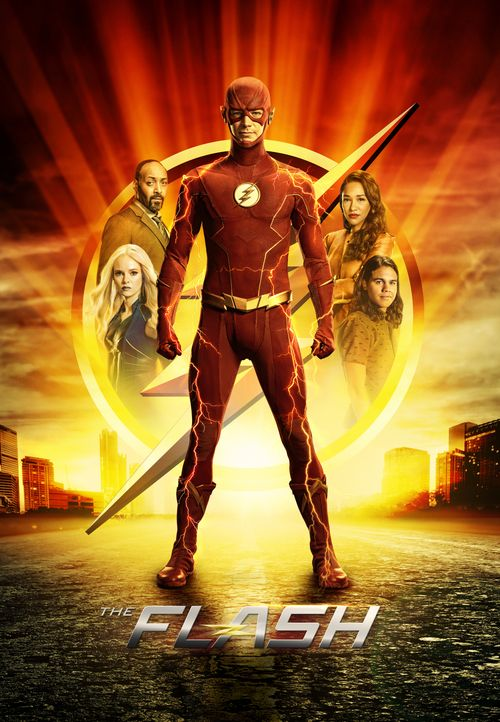 (7. Staffel) - The Flash - Artwork - Bildquelle: Warner Bros. Entertainment Inc. All Rights Reserved.