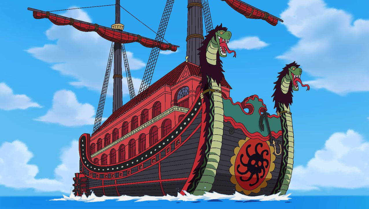 Ruffy erwacht! Abenteuer auf der Insel der Frauen - Bildquelle: Eiichiro Oda/Shueisha, Toei Animation