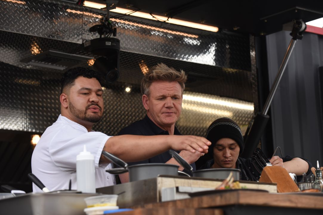 Gordon Ramsay (M.) - Bildquelle: Studio Ramsay and all3media international