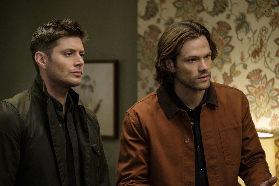 Dean (Jensen Ackles, l.); Sam (Jared Padalecki, r.) - Bildquelle: Robert Falconer 2016 The CW Network, LLC. All Rights Reserved / Robert Falconer