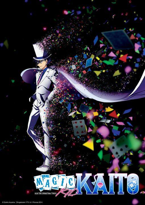 (1. Staffel) - Magic Kaito - Artwork - Bildquelle: Gosho Aoyama/Shogakukan·YTV·A-1 Pictures 2014