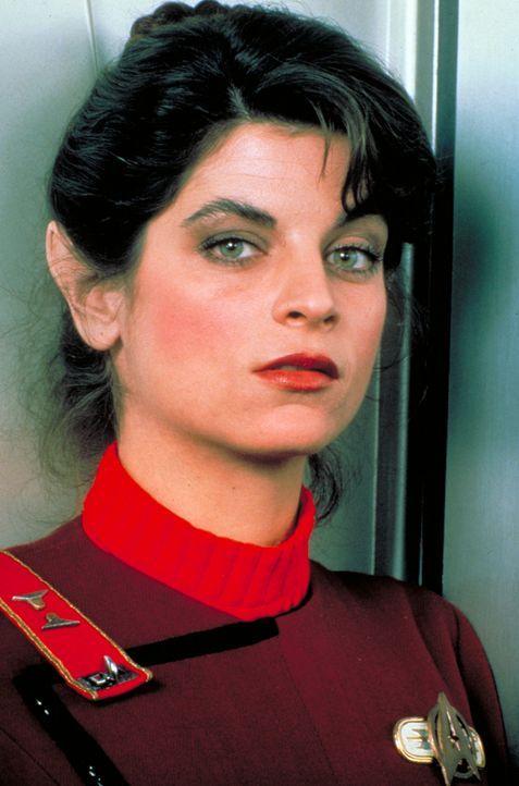 Lieutenant Saavik (Kirstie Alley) wird die neue Navigatorin der Enterprise … - Bildquelle: Paramount Pictures