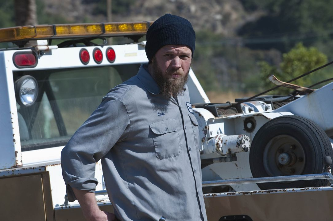 Opie (Ryan Hurst) gefallen die aktuellen Entwicklungen innerhalb der Sons of Anarchy gar nicht ... - Bildquelle: 2009 Twentieth Century Fox Film Corporation and Bluebush Productions, LLC. All rights reserved.