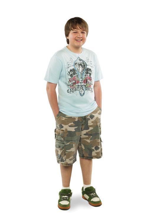 (7. Staffel) - Hat es mit seinem Vater Alan und seinem Onkel Charlie nicht immer leicht: Jake (August T. Jones) ... - Bildquelle: Warner Brothers Entertainment Inc.