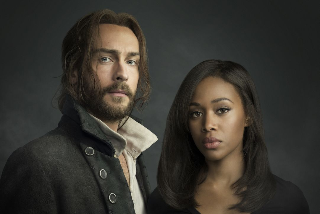 (3. Staffel) - Als die hübsche und mächtige Pandora in Sleepy Hollow auftaucht, müssen Ichabod Crane (Tom Mison, l.) und Abbie Mills (Nicole Beharie... - Bildquelle: 2015-2016 Fox and its related entities.  All rights reserved.