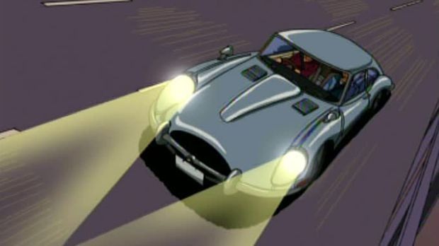 Jaguar E-Type bei Detektiv Conan